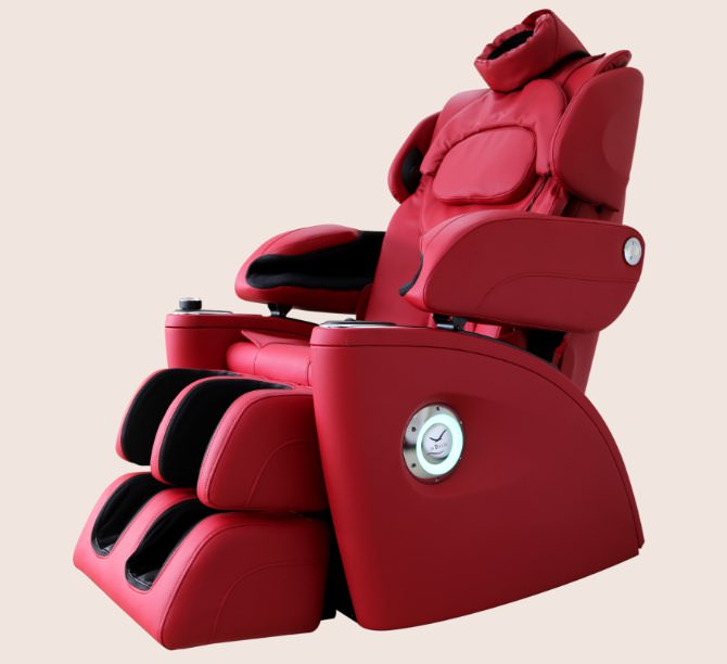 Ultra Feel Plus massage chair red