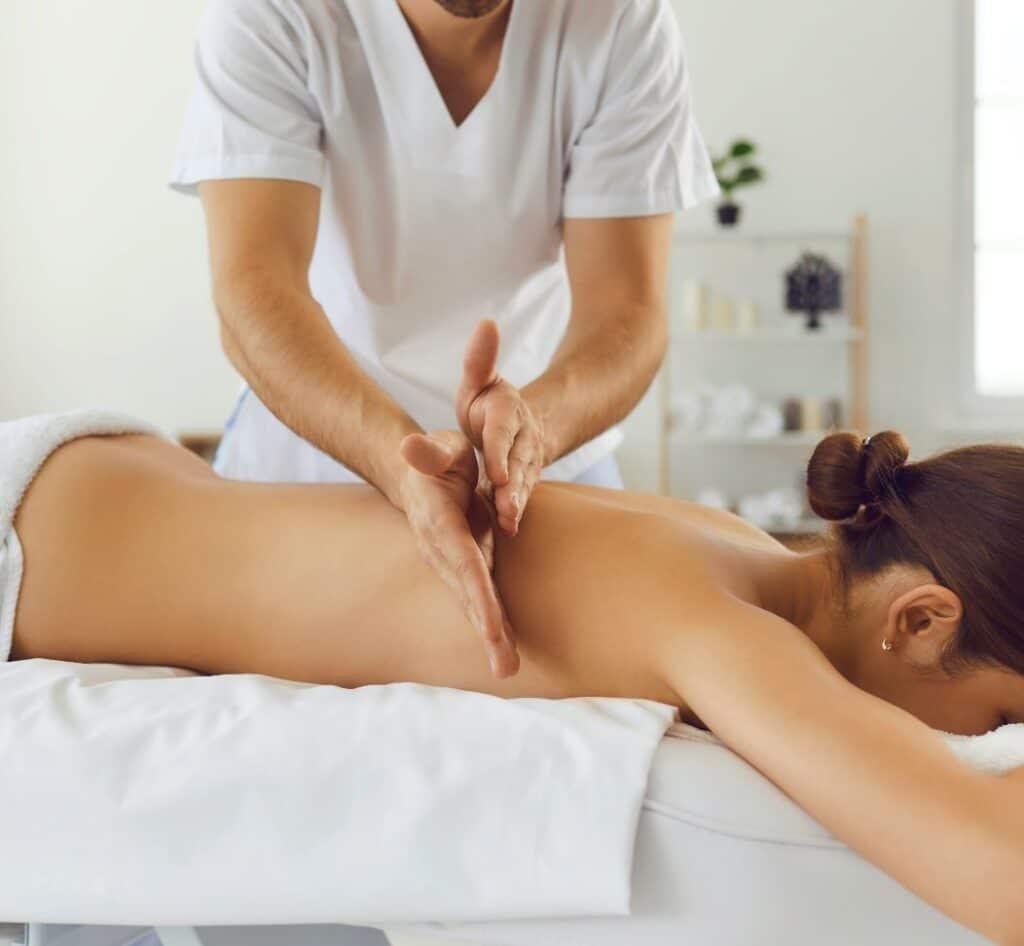 Percussion massage